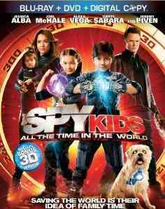 SPY KIDS:ALL THE TIME IN THE WORLD BY ALBA,JESSICA (Blu-Ray)