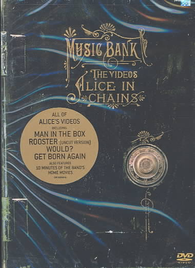 ALICE IN CHAINS:MUSIC BANK-THE VIDEOS BY ALICE IN CHAINS (DVD)